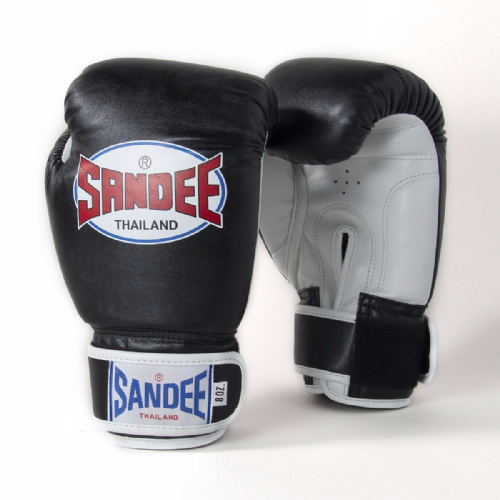 Sandee Kids Authentic Boxing Gloves - Black